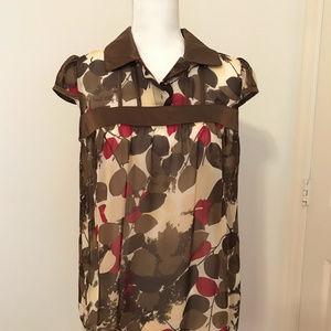 INC shirt tank top 100% silk